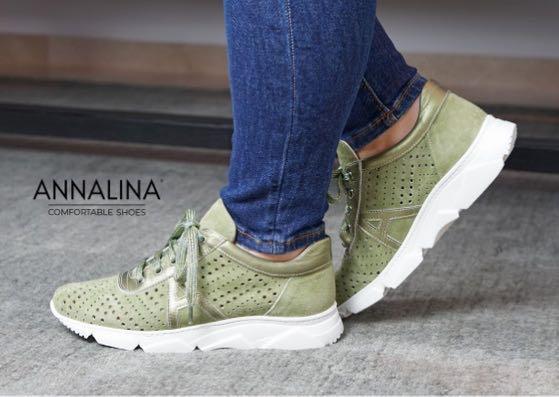 Annalina. Italiaanse elegantie voor dames met een eigen voetbed.